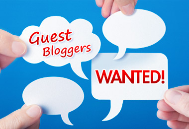 We're looking for guest bloggers